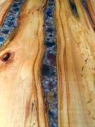 Close up of the River table